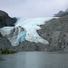 Picture - Worthington glacier near Valdez.