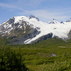 Picture - Worthington Glacier on the Thompson Pass to Valdez.