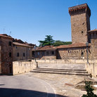 Picture - A square in Lucignano.