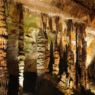 Picture - Stalactites in the Sequoyah Caverns near Valley Head.