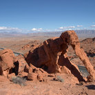 Picture - Elephant rock at Valley of Fire State Park.