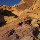 Picture - Sandstone formations at Valley of Fire State Park.