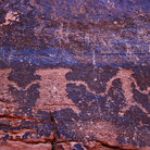 Picture - Petroglyphs at Valley of Fire State Park.