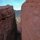 Picture - Canyon at Valley of Fire State Park.