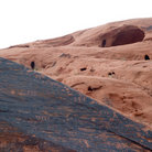 Picture - Petroglyphs in the Valley of Fire State Park.