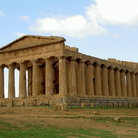 Picture - Greek temple in Agrigento.