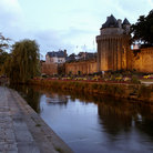 Picture - The river running through Vannes.