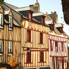 Picture - Typical architecture in Vannes.