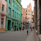 Picture - Typical street in Havana.