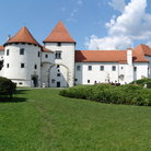 Picture - The Varazdin Castle in summer.