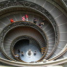 Picture - Spiral ramp, stairs in the form of a double helix in the Vatican Museum.