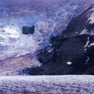 Picture - A portion of the Vatnajokull Glacier.