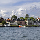 Picture - The Vaxholm waterfront area.