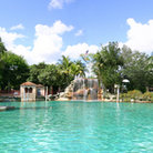 Picture - The beautiful venetian pool at the Biltmore Hotel in Coral Gables.