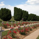 Picture - The military cemetery in Verdun.