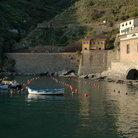 Picture - Waterfront at Vernazza.