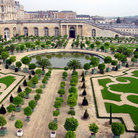 Picture - Formal gardens at Versailles.