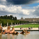 Picture - Versailles formal gardens.
