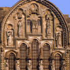 Picture - Detail of the Vezelay abbey.