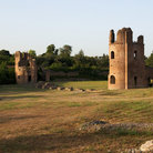 Picture - Via Appia Antica ruins in Rome.