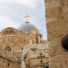 Picture - Station Nine, Via Dolorosa, Jerusalem.