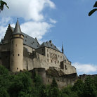 Picture - The Vianden Castle from the 9th Century.