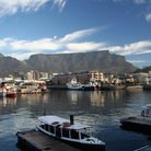 Picture - View over the Victoria and Albert waterfront at Cape Town.
