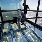 Picture - Glass floor of the Edge Experience, Eureka Skydeck.