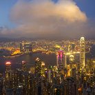 Picture - View of Hong Kong from Victoria Peak.