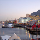 Picture - The wharf at Cape Town.