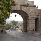 Picture - The Vienna Gate in Budapest.