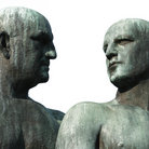 Picture - Sculptures of men at Vigeland Sculpture Park in Oslo.