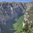 Picture - View of the cliff walls of the Vikos Gorge in Zagoria.