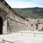 Picture - Old walls of Villefranche de Conflent.