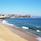 Picture - The beautiful coastline around Vina del Mar.