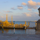 Picture - Late afternoon at Vizcaya Museum Gardens.