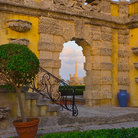 Picture - Archway at Vizcaya Museum and Gardens.