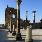 Picture - Roman ruins at Volubilis.