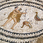 Picture - Mosaic in Volubilis.