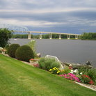 Picture - Scenic shore of Mississipi River, Wabasha.