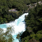 Picture - Huka Falls on the Waikato River.