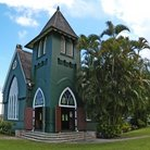 Picture - Wai'oli Hui'ia Church on the island Kauai.