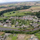 Picture - Aerial view of Warkworth.