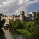 Picture - Warwick Castle towers.