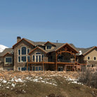 Picture - Large home in Hobble Creek Canyon along the Wasatch Mountains, Utah.