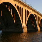 Picture - Key Bridge in Georgetown, Washington.
