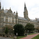 Picture - View of the exterior of Georgetown University.