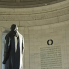 Picture - Interior of the Jefferson Memorial, Washington.
