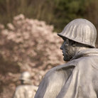 Picture - Soldier Statue at the Korean War Memorial in Washington.