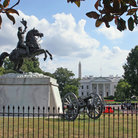 Picture - The Jackson Memorial in Lafayette Square, Washington.